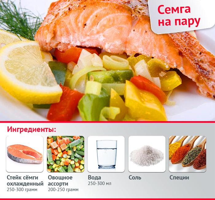 Рецепты семга стейк
